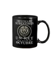 REY DE OCTUBRE Mug tile