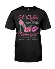 2 FEBRUARY QUEEN Classic T-Shirt thumbnail