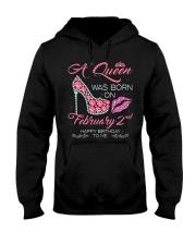 2 FEBRUARY QUEEN Hooded Sweatshirt thumbnail