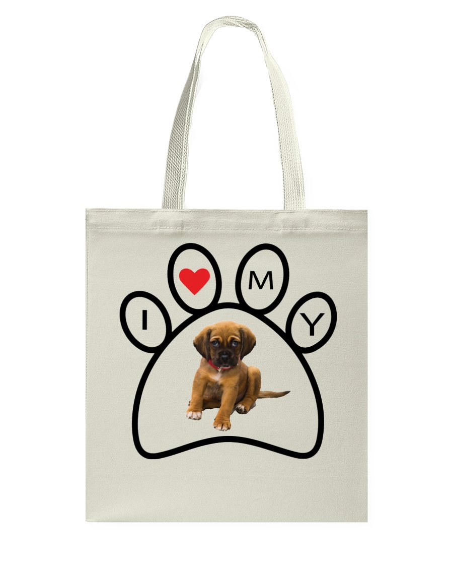 I love my dog tote Tote Bag