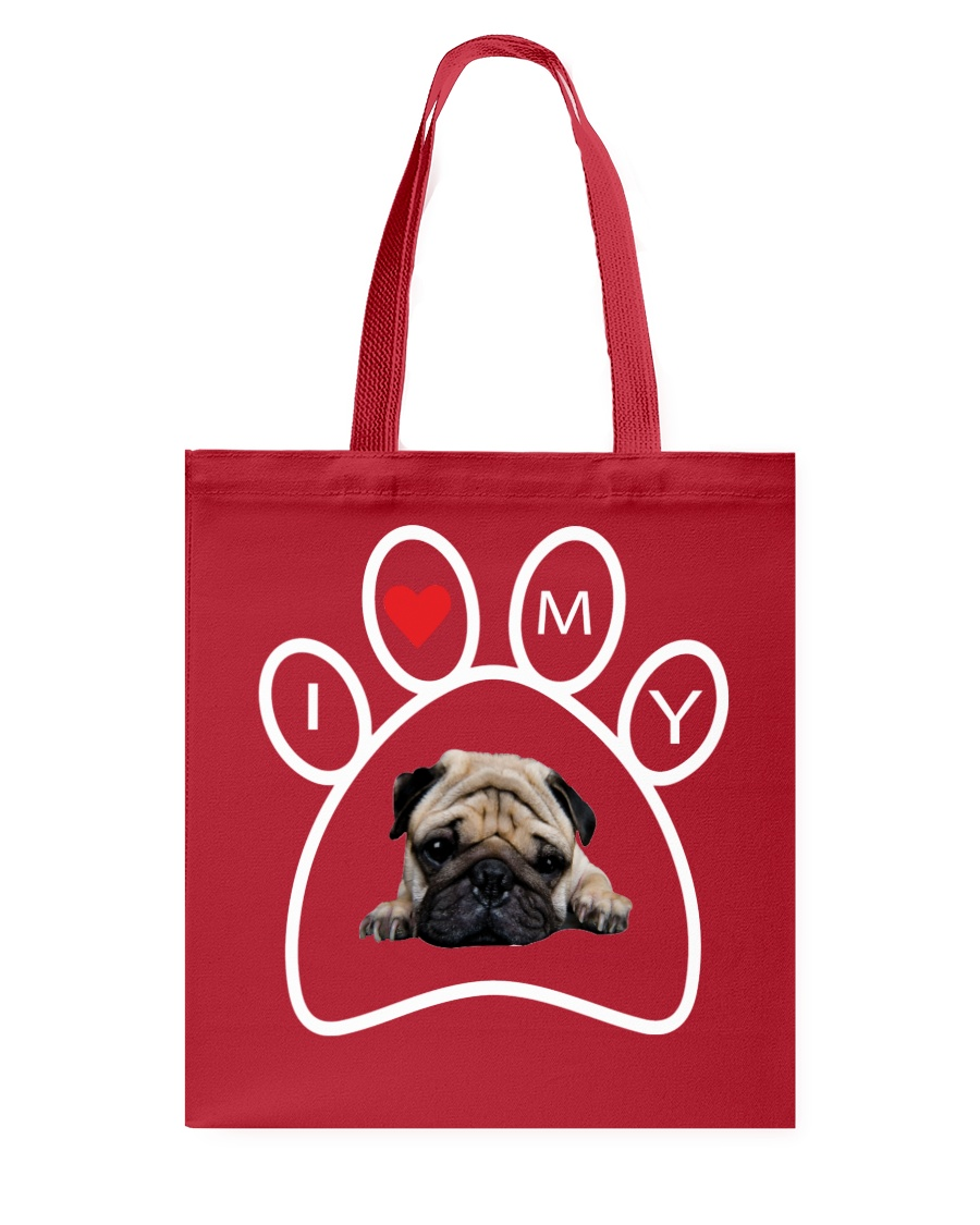 Pug Lover Tote Bag Tote Bag