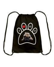 Pug Lover Tote Bag Drawstring Bag thumbnail
