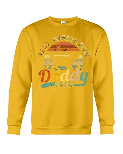 Dog Best Yorkie Poo Daddy Ever Vintage T-Shirt