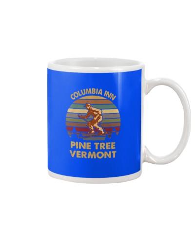 Columbia Inn pine tree Vermont sunset shirt