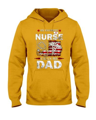 My Favorite Nurse Calls Me Dad Shirt Dad Papa