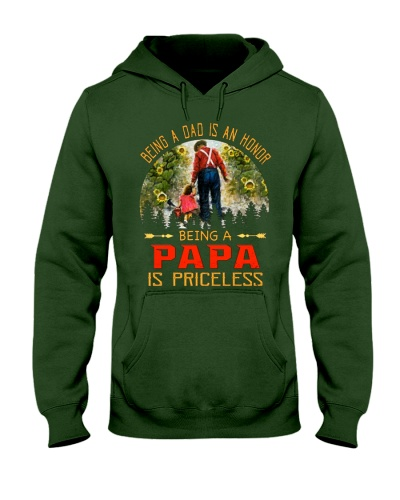 Being a dad is an honor being a Papa Shirt