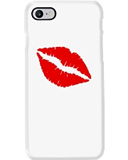 Hot Pink with Lips Phone Case Phone Case i-phone-7-case
