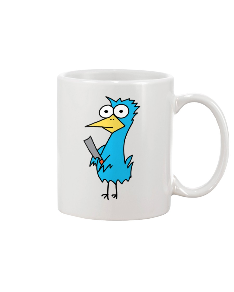 Burr Bird Huey for Your Beverage Mug