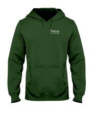 BirdShot IV and Floyd Dark Hooded Sweatshirt front