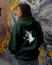BirdShot IV and Floyd Dark Hooded Sweatshirt lifestyle-unisex-hoodie-back-1