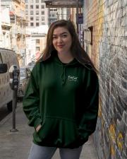BirdShot IV and Floyd Dark Hooded Sweatshirt lifestyle-unisex-hoodie-front-1