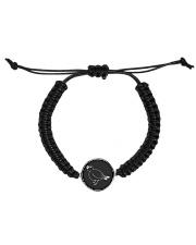 Spring-W Design  Cord Circle Bracelet thumbnail