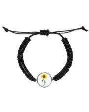 Sunflower-Fall Design Cord Circle Bracelet thumbnail