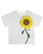Sunflower-Fall Design All-over T-Shirt thumbnail