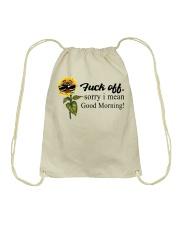 Good Morning Drawstring Bag tile