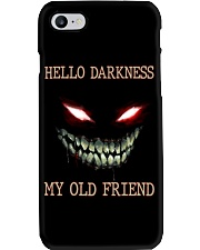 Hello darkness my old friend Phone Case tile