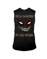 Hello darkness my old friend Sleeveless Tee tile