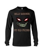 Hello darkness my old friend Long Sleeve Tee tile