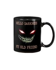 Hello darkness my old friend Mug tile