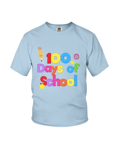 Happy 100th Day of School T Shirt for Teachers