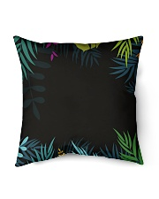 "Jungle palm echo Indoor Pillow - 16"" x 16"" thumbnail"