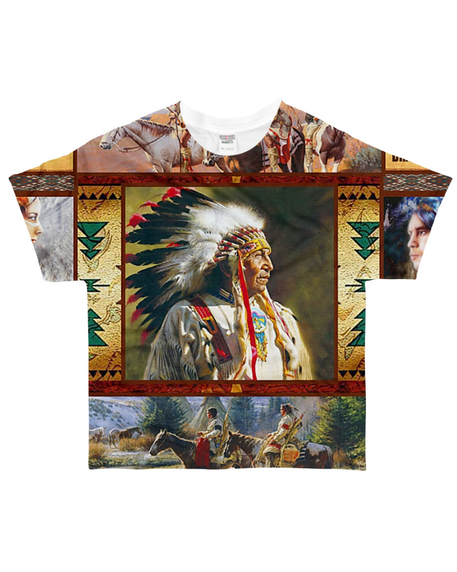 Native Chief All-over T-Shirt