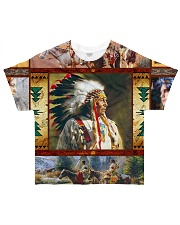 Native Chief All-over T-Shirt front