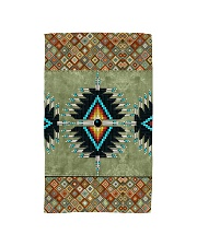 Green Pattern Hand Towel tile