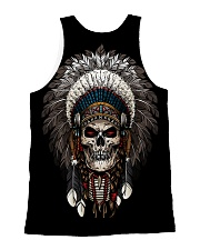 Skull Chief All-over Unisex Tank back