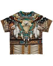 Bison Motifs All-over T-Shirt back