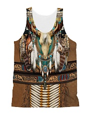 Bison Motifs All-over Unisex Tank thumbnail