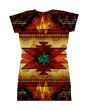 Native Pattern All-over Dress back