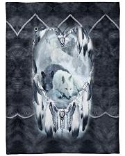 "Lovely Wolf Large Fleece Blanket - 60"" x 80"" thumbnail"