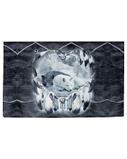 Lovely Wolf Woven Rug - 3' x 2' thumbnail