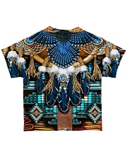 Pattern Feather All-over T-Shirt back