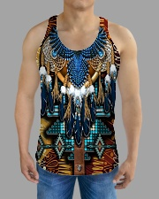 Pattern Feather All-over Unisex Tank aos-tank-unisex-lifestyle01-front