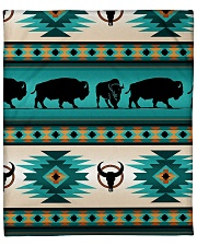 "Aztec Native Navajo Fleece Blanket - 50"" x 60"" thumbnail"