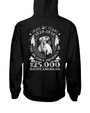 Trail Of Tears Hooded Sweatshirt back