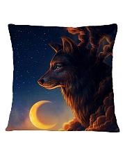 Night Wolf Square Pillowcase thumbnail