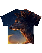 Night Wolf All-over T-Shirt back