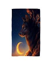 Night Wolf Hand Towel thumbnail