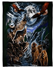 "Animal Spirit 2 Small Fleece Blanket - 30"" x 40"" thumbnail"