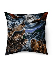 "Animal Spirit 2 Indoor Pillow - 16"" x 16"" thumbnail"