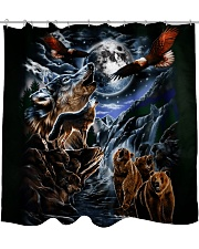 Animal Spirit 2 Shower Curtain thumbnail