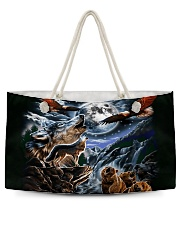 Animal Spirit 2 Weekender Tote tile
