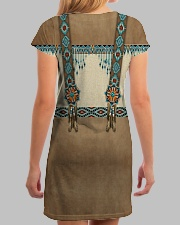 Native Pattern All-over Dress aos-dress-back-lifestyle-3