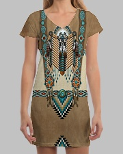 Native Pattern All-over Dress aos-dress-front-lifestyle-3