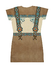 Native Pattern All-over Dress back