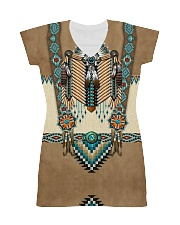Native Pattern All-over Dress front