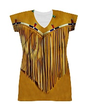 Tassels Yellow All-over Dress thumbnail